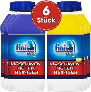 Finish 亮碟 機器護理劑,洗碗機清潔劑 6瓶(6*250ml) 3x Classic & 3x Citrus
