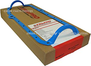 New Fel Pro 1 Piece Oil Pan Gasket 1975-1985 Chevy sb 400 350 305 267 265 262 (1pc Rubber)