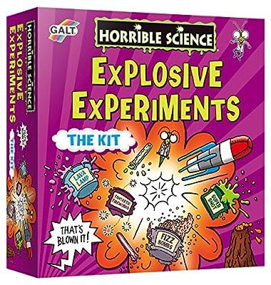 Galt Toys Horrible Science Explosive Experiments from James Galt & Company Ltd