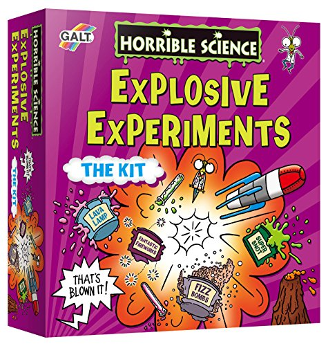 Galt Toys, Horrible Science - Explosive Experiments, Science Kit for Kids, Ages 8 Years Plus
