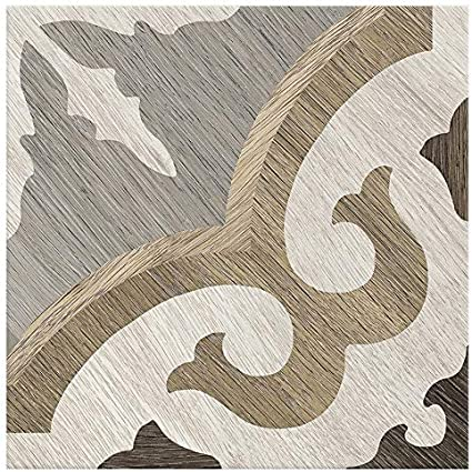 12.91 sq. ft.// Case Matte Porcelain Floor and Wall Tile x 8 in Castaic Briar Oak 8 in