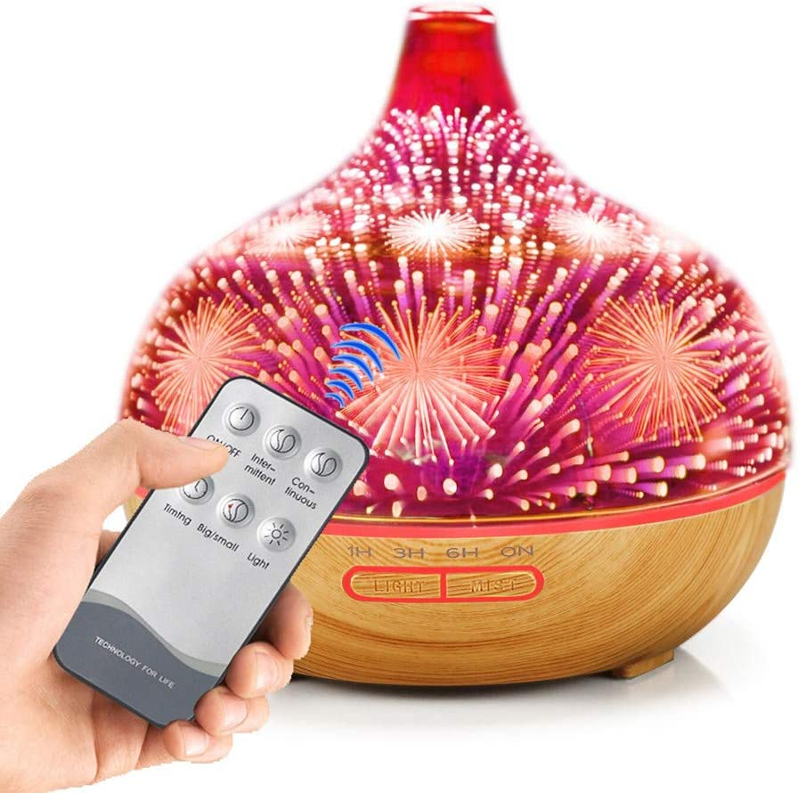 E-Scenery Spasm price Remote Control 3D Ultrasonic Mist Sales for sale Cute Humi Cool 400ml