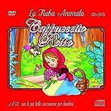 Le Più Belle Canzoncine & Fiabe Cd Audio + DVD di Cappuccetto Rosso Idea Regalo per bambini e Per Feste di compleanno