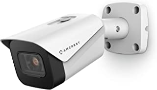 Amcrest UltraHD 4K (8MP) Outdoor Bullet POE IP Camera, 3840x2160, 131ft NightVision, 2.8mm Lens, IP67 Weatherproof, MicroS...