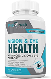 Vision & Eye Support Supplement - Improves Macular & Retina Health for Clarity of Vision, Color Perception, Night Vision, ...