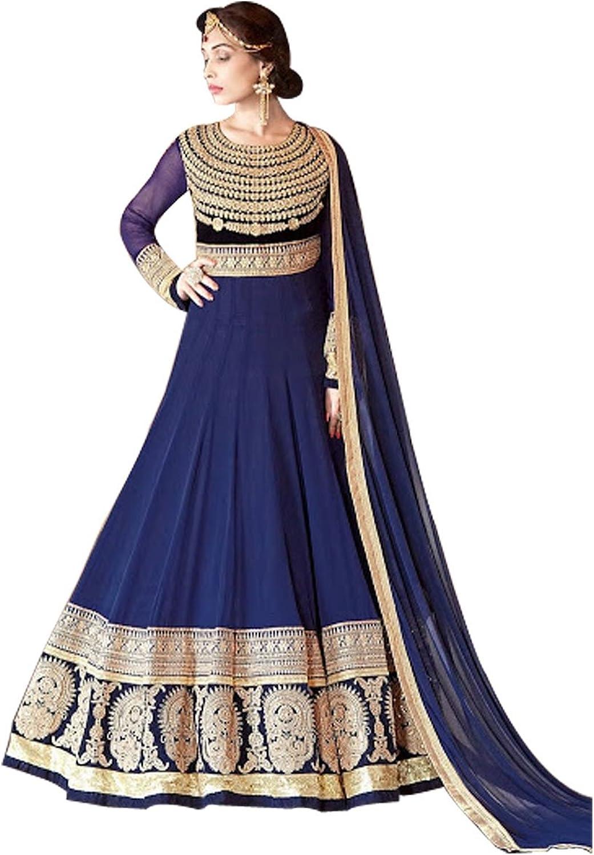 BollywoodIndian Anarkali Shalwar Kameez Suit Wedding Ethnic Dress Patiyala suit