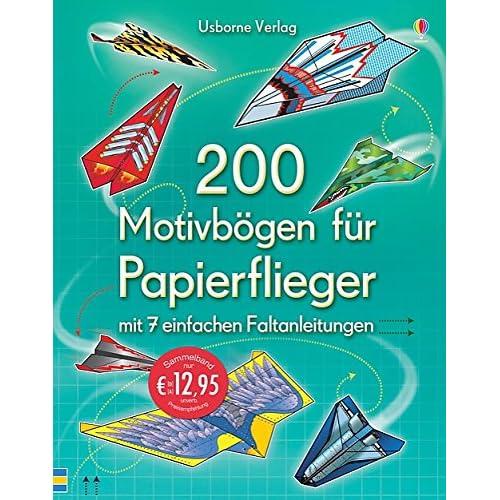Papierflieger Basteln Amazon De
