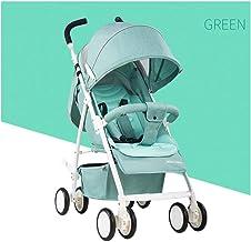MNBV Sistema de Viaje para Silla de Paseo con Silla de Paseo Buggy Silla de Paseo para niños 0-3 años, Verde