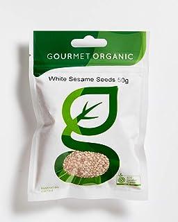 Gourmet Organic Herbs Sesame Seeds White, 50 g