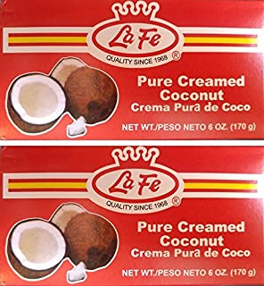 LA FE PURE CREAMED COCONUT 6 OZ 2PK