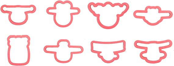 Disney Planes Cookie Cutter Set of 8 with Matching Stencils