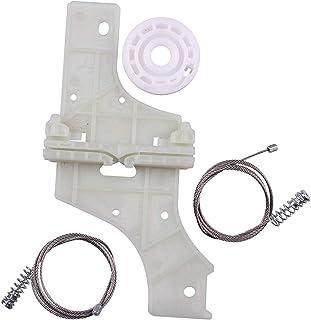HLY_Autoparts Peugeot 508 Kit de reparación del regulador de la Ventana Puerta Delantera Izquierda para 2010 – En