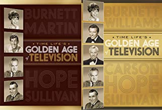 Age of Golden Television from Time Life 19-DVD Collection with over 40-Hours of Classic TV in 2 Volumes (11-DVD Set and 8-DVD Set) Comedy Carol Burnett Johnny Carson Ed Sulivan and Many More!!