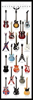 Pyramid America Guitar Heaven Famous Classic Electric Collection Rock Star Music Giant Cool Wall Decor Art Print Poster 21x62