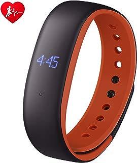 Mpow Pulsera Actividad, Fitness Tracker, IP67 con Pulsómetro,Podómetro, Recordatorio, Sueño, Alarmas, Distancia, para iOS y andriod