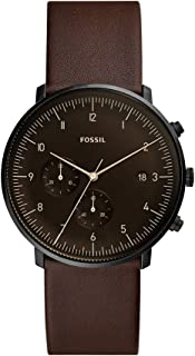 Fossil Men's FS5485 Chronograph Quartz Brown Watch