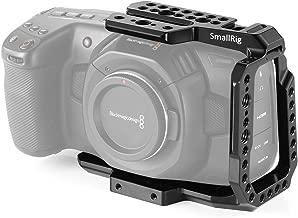 SMALLRIG BMPCC 4K, 6K Media Cage Compatible con Blackmagic Pocket Cinema Camera 4K, 6K Media Jaula con Mecanismo Anti-Giro y Rieles Incorporados de la OTAN - 2254