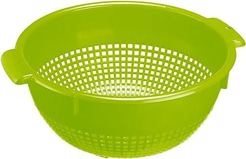 Westmark 2126221A Passoire en vert pomme, Plastique, 26 cm