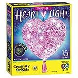 Creativity for Kids String Art Heart Light - Create a Heart Shaped String Art Lantern - String Art Kids for Kids