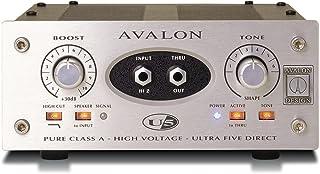 Avalon U5 Pure Class A Mono Instrument DI-Preamplifier Silver