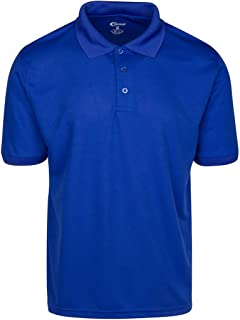 Mens High Moisture Wicking Polo T Shirts