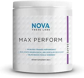 nova 3 labs max perform