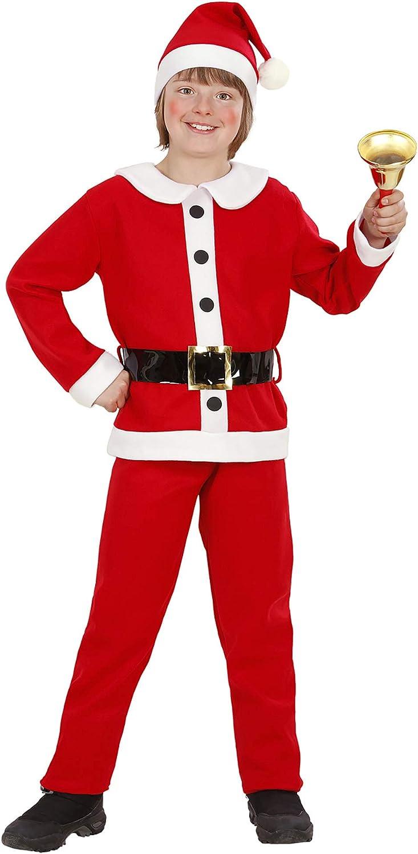 Flannel Santa Boy Christmas Theme Hats Caps & Headwear for Fancy Dress Costumes Accessory 116 Cm