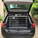 PET WORLD BMW 3 Series Dog Puppy Pet sloped Car travel training carrier crate, cage,