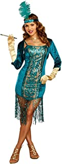 Best teal flapper costume Reviews