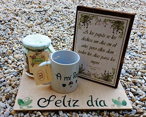 Regalo Día del Padre Original - Hecho a mano con dedicatoria personal, un regalo personalizado