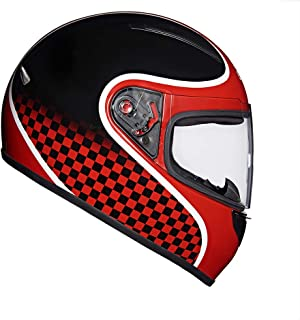 Royal Enfield Gloss Redditch Red Full Face With Visor Helmet Size (L)60 CM (RRGHEJ000020)