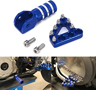 Rear Brake Pedal Step Plate Tip Gear Shifter Shift Lever For KTM EXC EXCF SX SXF XC XCF XCW XCFW 125-530 250 350 450 2004-2010 690 SMC 950 990 Adventure - Blue