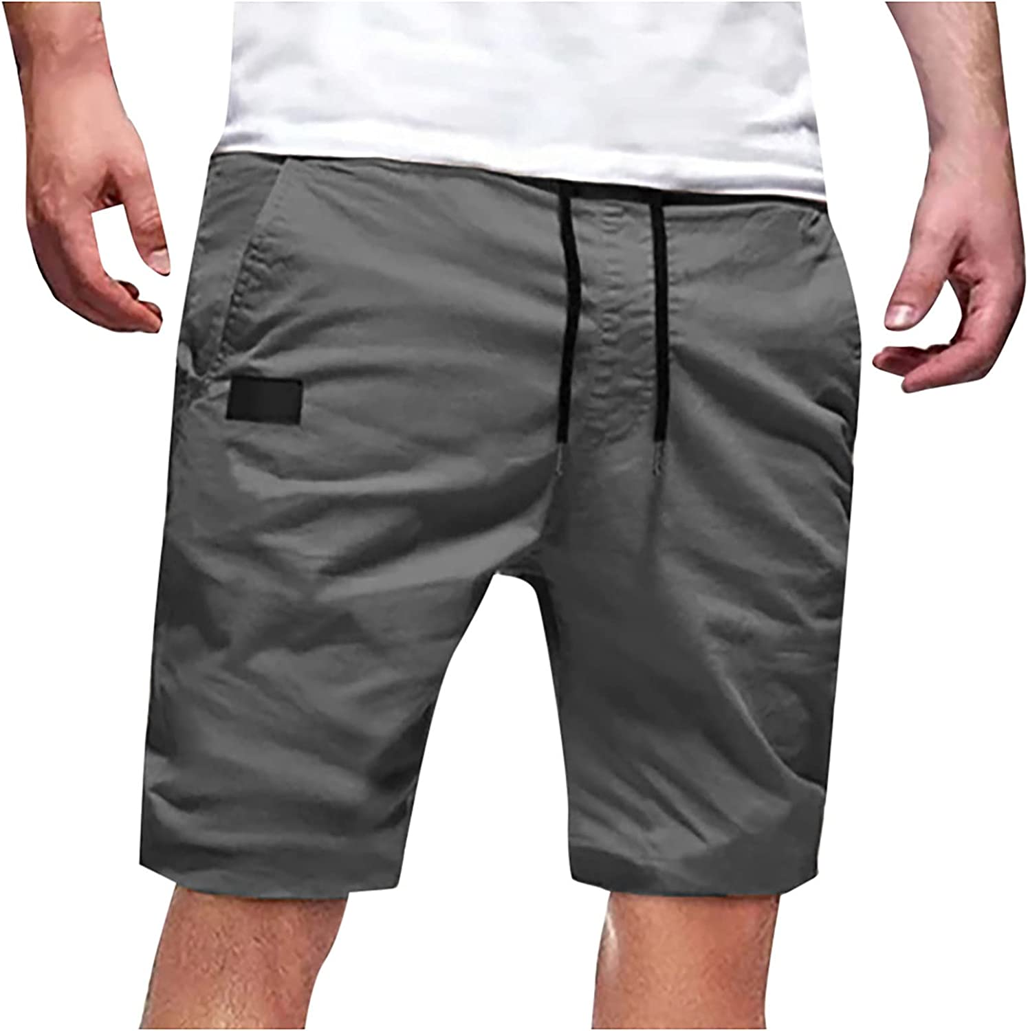 miqiqism Men's Quick Dry Thin Workout Running Shorts Plus Size Athletic Gym Shorts Training Bodybuilding Jogger Short