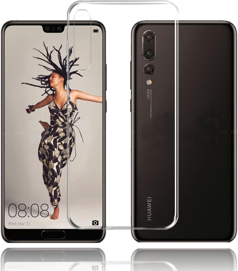 Cover Huawei P20 Pro Custodia Huawei P20 Pro TopACE Custodia Puro Trasparente Morbida TPU Silicone Ultra Sottile Case per Huawei P20 Pro (Trasparente)