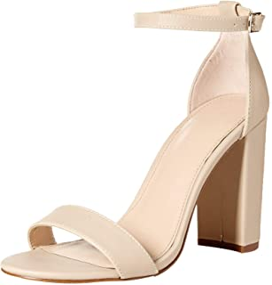 The Drop Rebecca Strappy High Block Heel Sandal para mujer