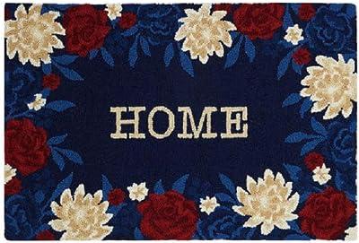 Peking Handicraft 30JES878C03 USA Home Hook Rug, 36-inch Length, Wool