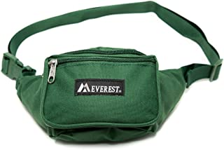 Everest Signature Waist Pack - Standard, Unisex-Adult, 044KD-GRN, Green, One Size