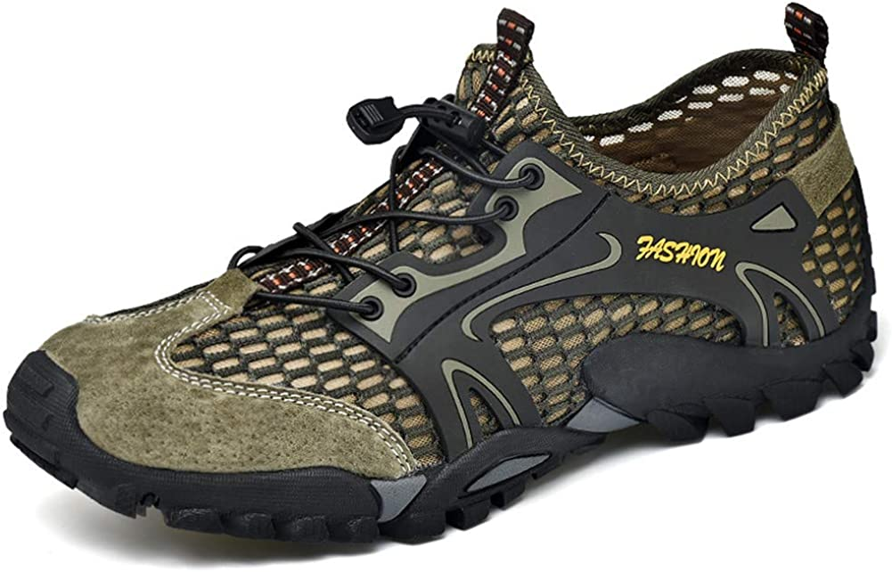 Asifn Men'sHikingBreathable Lightweight Industry No. 1 Shoes Quick Dr Outdoor Sale price