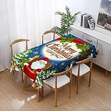Kerst Rechthoekig Tafelkleed - Kerst Waterdicht Tafelkleed Eettafel Thuis Rechthoekig Restaurant Salontafel Tafel Cover Mo...