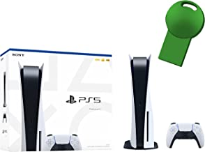 Sony PS5 Playstation 5 Disc Version Gaming Console + 1 Wireless Controller, x86-64-AMD Ryzen Zen 8 Cores CPU, 16GB GDDR6 M...