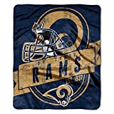Officially Licensed NFL 'Grand Stand' Plush Raschel Throw Blanket