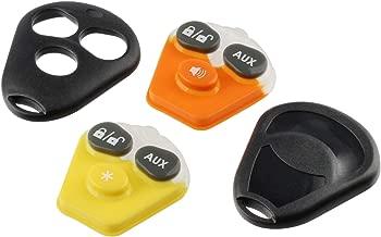 Key Fob Keyless Entry Remote shell Case & Pad fits Viper EZSDEI474V - 3 Button