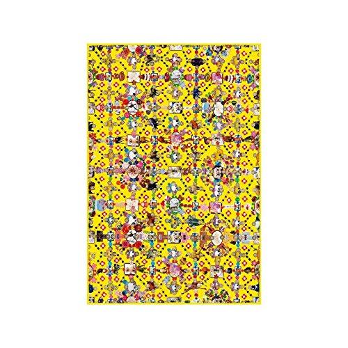 Moooi Carpets Obsession Teppich 200x300cm, gelb