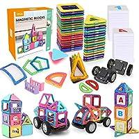 ✿IMMAGINE E CREATIVITÀ: un fantastico set di giocattoli creativi che aiuta a ispirare la capacità di creatività e immaginazione di tuo figlio, a sviluppare la sua competenza pratica, il pensiero logico, la sicurezza. ✿ SICURO PER BAMBINI: Realizzato ...