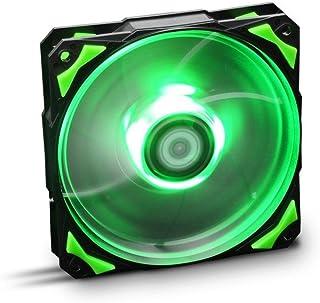 Nox Hummer H-FAN LED-Verde - NXHUMMERF120LG - Ventilador 12 mm, Led Verde