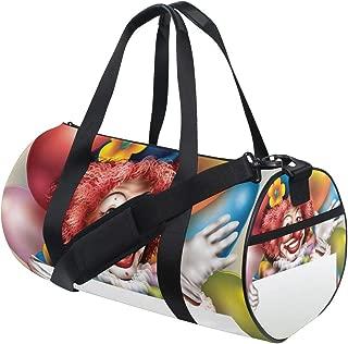 Duffel Bag Joker Holding Placard Women Garment Gym Tote Bag Best Sports Bag for Boys