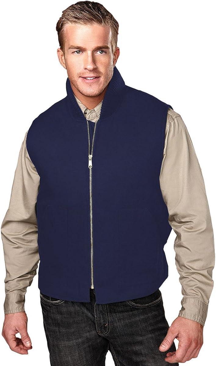 Tri-Mountain Heavyweight 12 oz. Canvas Vest. 4443