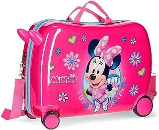 Maleta infantil ruedas multidireccionales Minnie Super