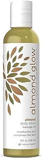 Home Health Almond Glow Almond Body Lotion - 8 fl oz - Skin Moisturizer & Massage Oil, With Peanut, Olive & Lanolin Oils P...