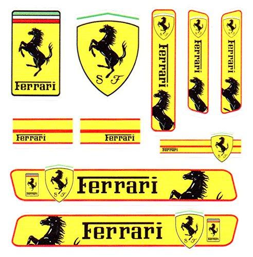 Ferrari フェラーリ PVC カー ステッカー